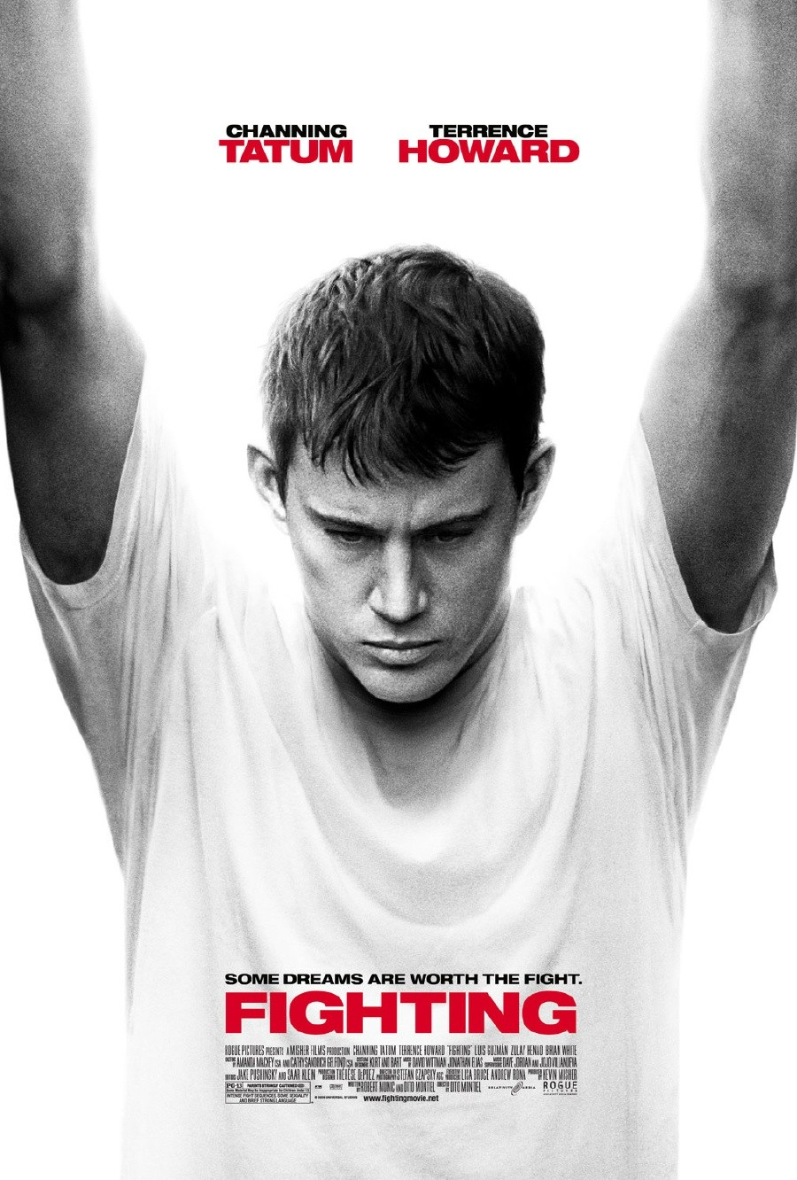 Official Poster for Channing Tatum's 'Fighting'